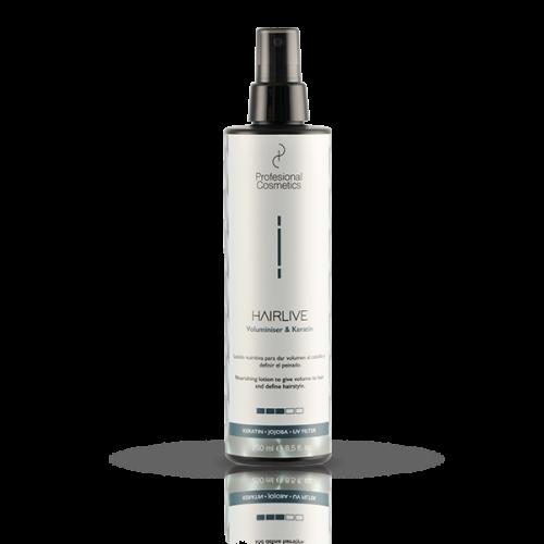 Spray de Fijación Hairlive Vomunen&Keratin Profesional Cosmetics 250ml
