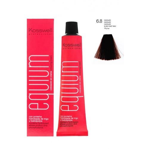 Tinte Permanente Equium 6,8 Chocolate Kosswell