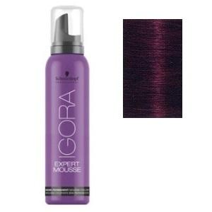 Color semipermanente Igora Mousse 5-99 Castaño claro violeta intenso Schwarzkopf