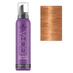 Color semipermanente Igora Mousse 9,5-17 Rubio extraclaro ceniza cobre Schwarzkopf