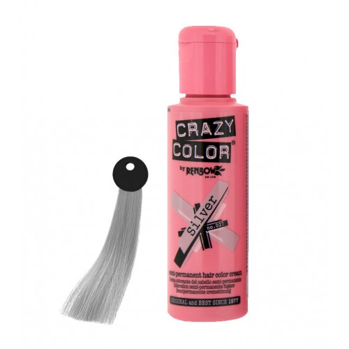 Crema colorante Crazy Color Silver nº27 100ml