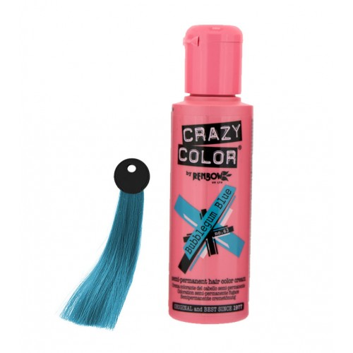 Crema colorante Crazy Color Bubblegum Blue nº63 100ml