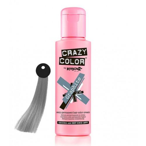 Crema colorante Crazy Color Graphite nº69 100ml