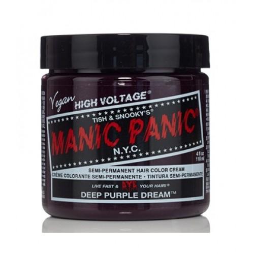 Tinte fantasía semipermanente Classic Deep Purple Dream Manic Panic