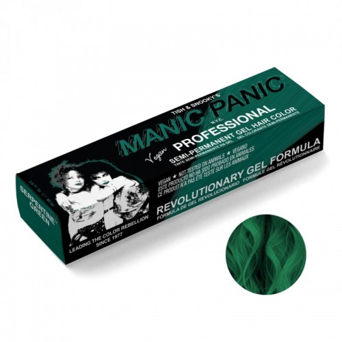 Manic Panic Professional Gel Hair Color Serpentine Green