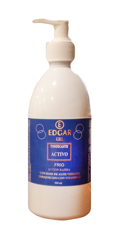 Gel Frio Tonificante 500ml Edgar