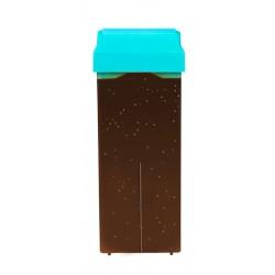 Cartucho cera semi-fria Chocogold Roll-on Depil Ok