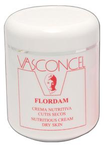 Crema Nutritiva cutis secos Flordam 500ml Vasconcel
