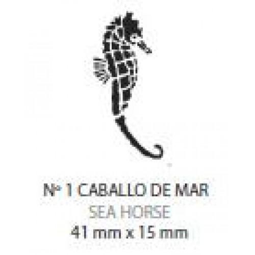 Plantilla aerografo Nº1 Caballito De Mar Laurendor