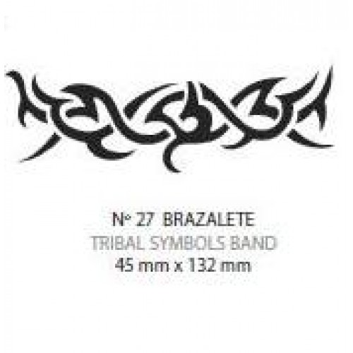 Plantilla aerografo Nº27 Brazalete Tribal Laurendor