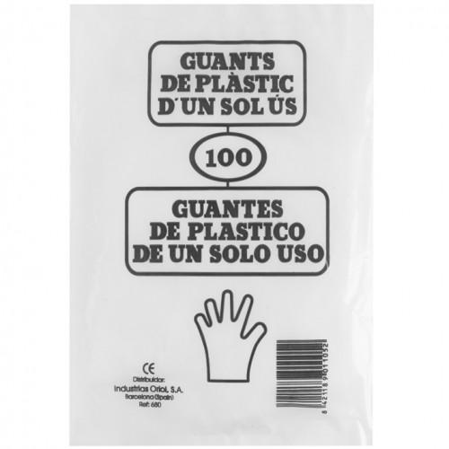 Guantes Desechables 100 unidades Eurostil