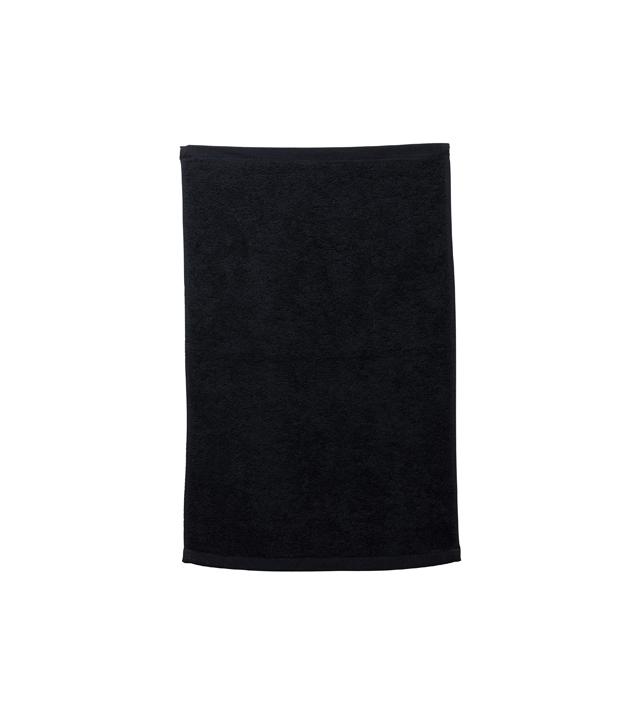 Toalla Manos Negra Bob Tuo 45x28 Sibel