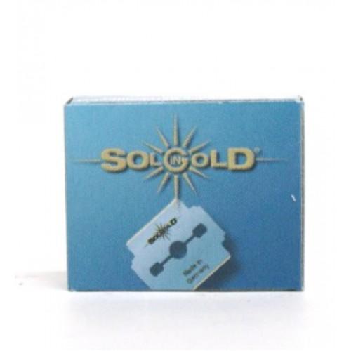 Caja 10 Hojas Cortacallos Gold Eurostil