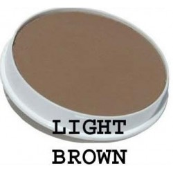 Maquillaje capilar Ecobell Light Brown 25gr Topical Shader