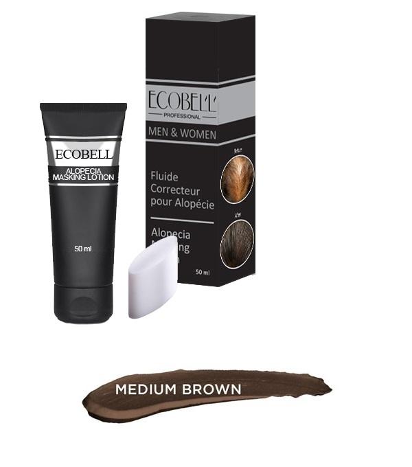 Locion Ecobell Medium Brown Masking Lotion 50ml