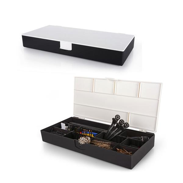 Caja portautiles Blanco y Negro BiFull
