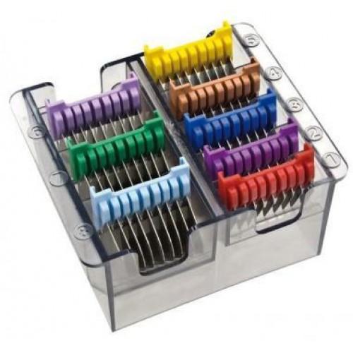 Caja Peines Metalicos 8 unidades Wahl