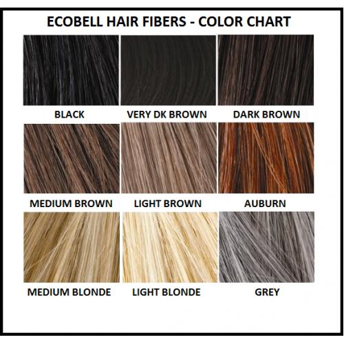 Fibras capilares Ecobell 10gr Grey
