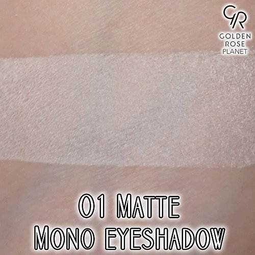 Soft Color Mono Eyeshadow Nº01 MATTE Golden Rose